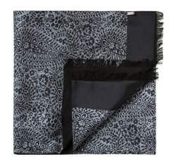 Men's scarf, grey-black, 83-7M-S41-X8, Photo 1