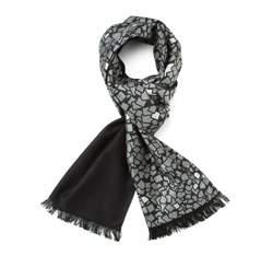 Men's scarf, grey-black, 83-7M-S41-X9, Photo 1
