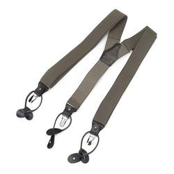Męskie szelki do spodni, zielony, 91-SZ-001-X4, Zdjęcie 1