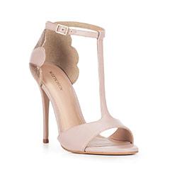 Buty damskie, różowo - złoty, 88-D-253-9-38, Zdjęcie 1