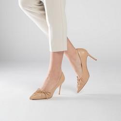 Women's shoes, light brown, 90-D-900-9-40, Photo 1