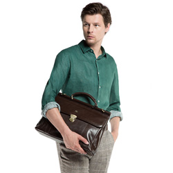 Briefcase, brown, 10-3-284-4, Photo 1