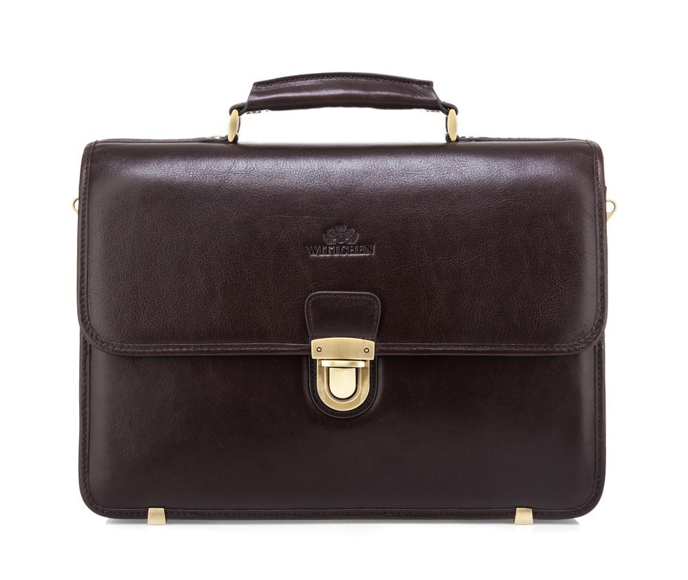 Купить Кожаный портфель Wittchen, Германия, коричневый