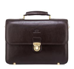 Кожаный портфель 82-3-806-4R