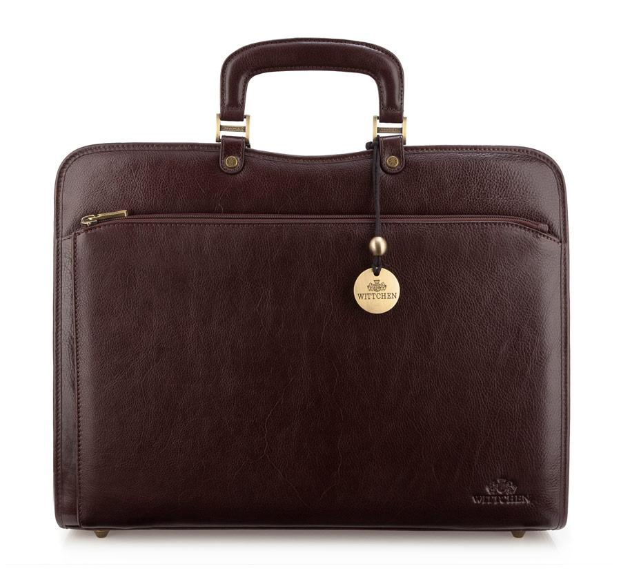 Moderná kožená pánska taška