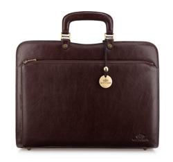 Briefcase, brown, 21-3-053-44, Photo 1