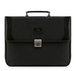 Briefcase, black, 29-3-020-1, Photo 1