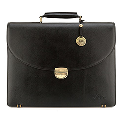 Briefcase, black, 13-3-018-11, Photo 1