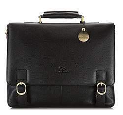 Briefcase, black, 17-3-733-1, Photo 1