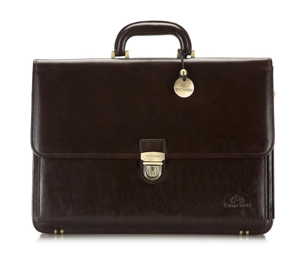 Портфель Wittchen 21-3-025-4, коричневый