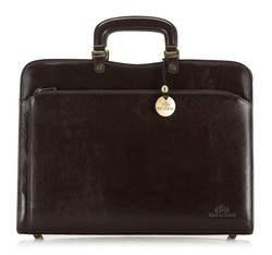 Briefcase, dark brown, 21-3-053-4, Photo 1