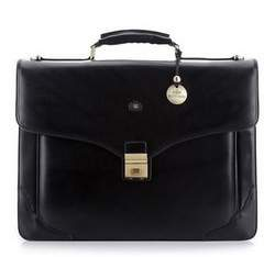 Briefcase, black, 39-3-012-1, Photo 1