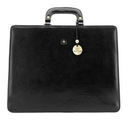 Briefcase, black, 39-3-109-1, Photo 1