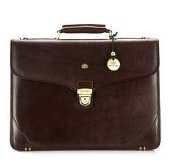 Briefcase, brown, 10-3-015-4, Photo 1