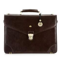 Briefcase, brown, 10-3-016-4, Photo 1