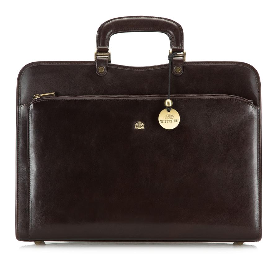 Kožená pánska taška z kolekcie Arizona.