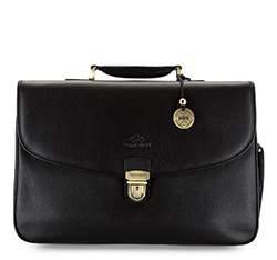 Briefcase, black, 17-3-294-1, Photo 1