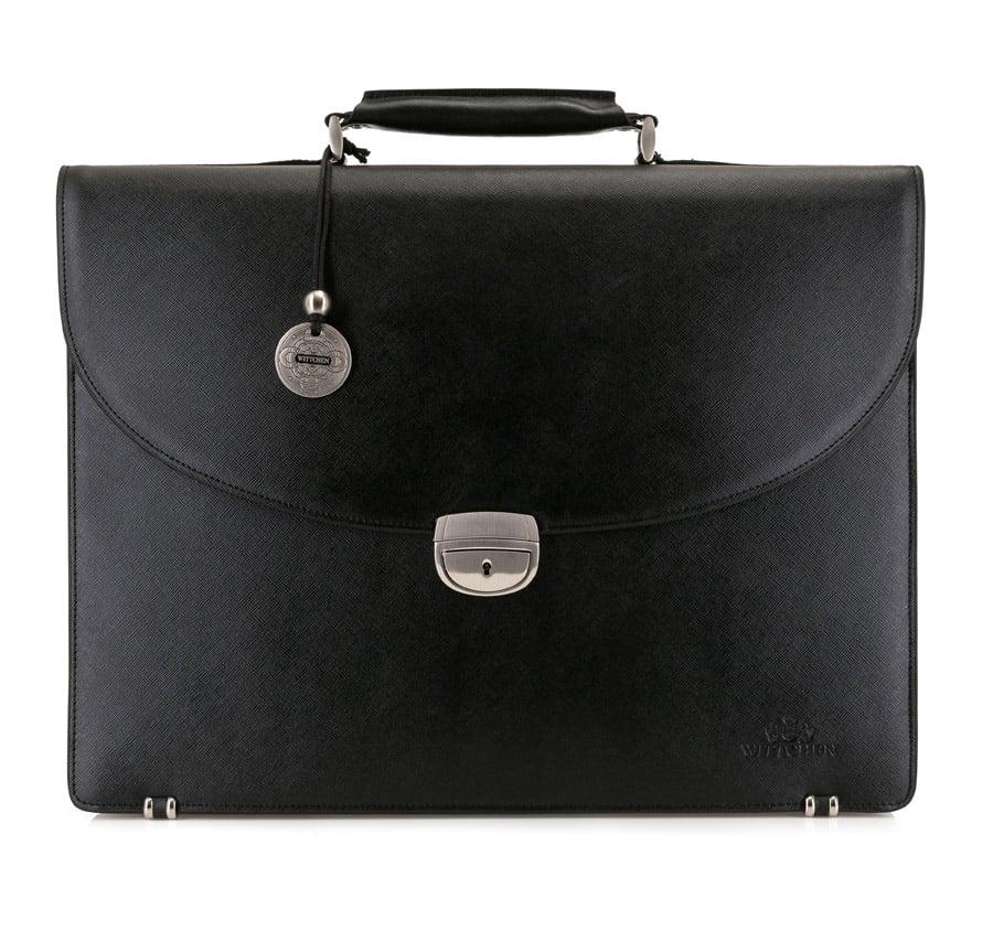 Luxusná pánska kožená taška