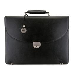 Briefcase, black, 13-3-018-1, Photo 1