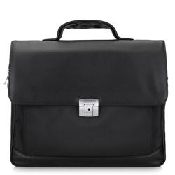 """Teczka z kieszenią na laptopa 15,6"""" z tkaniny, czarny, 29-3-700-1, Zdjęcie 1"""