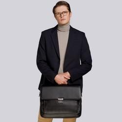 """Teczka z kieszenią na laptopa 15,6"""" miękka, czarny, 29-3-701-1, Zdjęcie 1"""