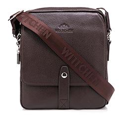 Messenger bag, brown, 85-4U-104-4, Photo 1