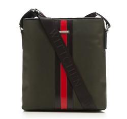 Messenger bag, dark green, 85-4U-210-Z, Photo 1
