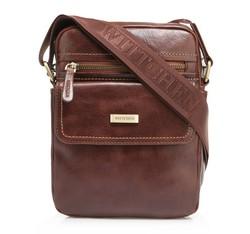 Messenger bag, brown, 85-4U-515-5, Photo 1