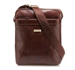 Messenger bag, brown, 85-4U-516-5, Photo 1