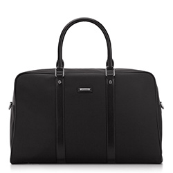 Travel bag, black, 87-3U-203-1, Photo 1