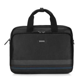 Torba na laptopa, czarny, 87-3U-500-1, Zdjęcie 1