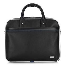 Torba na laptopa, czarny, 87-3U-501-1, Zdjęcie 1