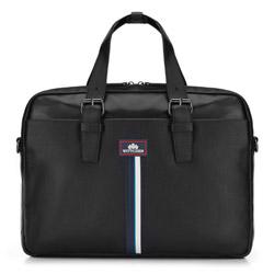 Torba na laptopa, czarny, 87-3U-502-1, Zdjęcie 1