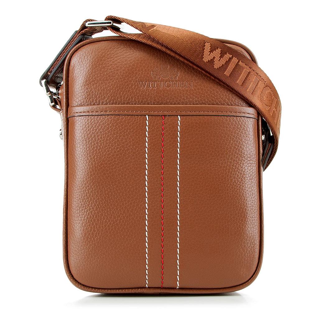 Kožená taška na rameno z kolekcie Office Leather.