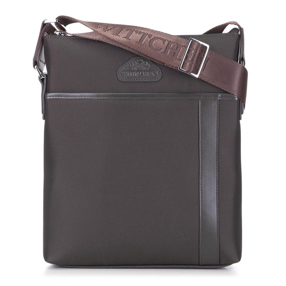 Hnedá kvalitná taška na rameno.