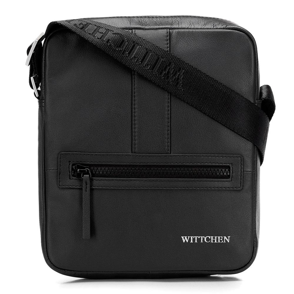 Kožená taška na rameno 92-4U-901-1