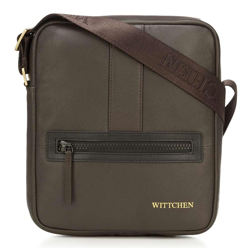 Kožená taška na rameno 92-4U-901-51
