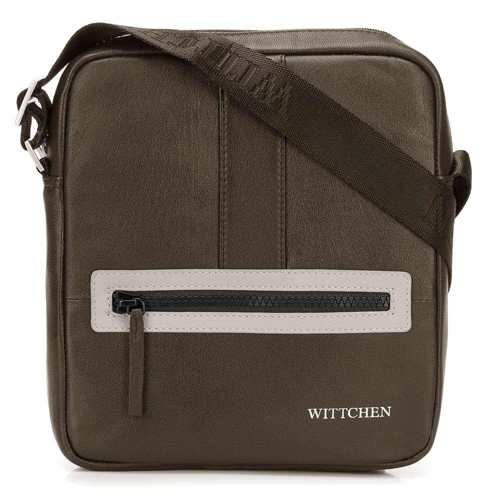Kožená taška na rameno 92-4U-901-58
