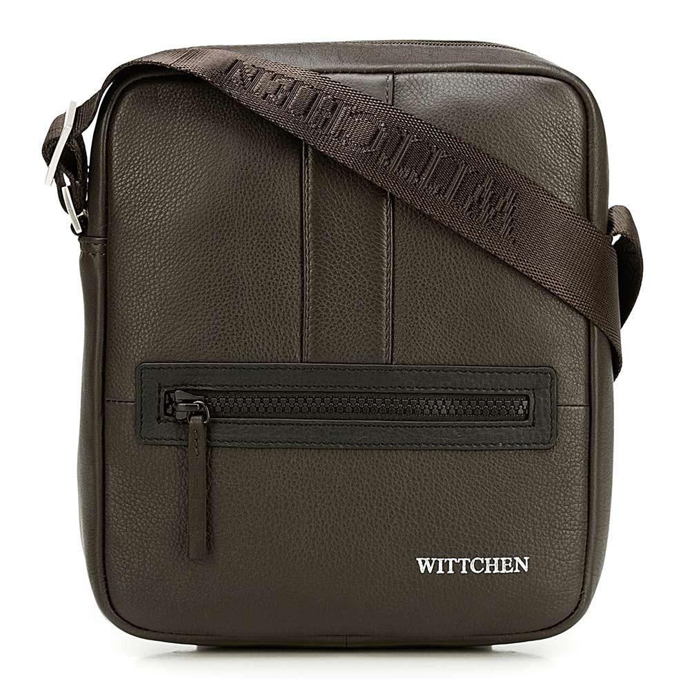 Kožená taška na rameno 92-4U-901-5C