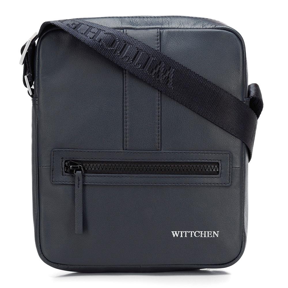 Kožená taška na rameno 92-4U-901-7