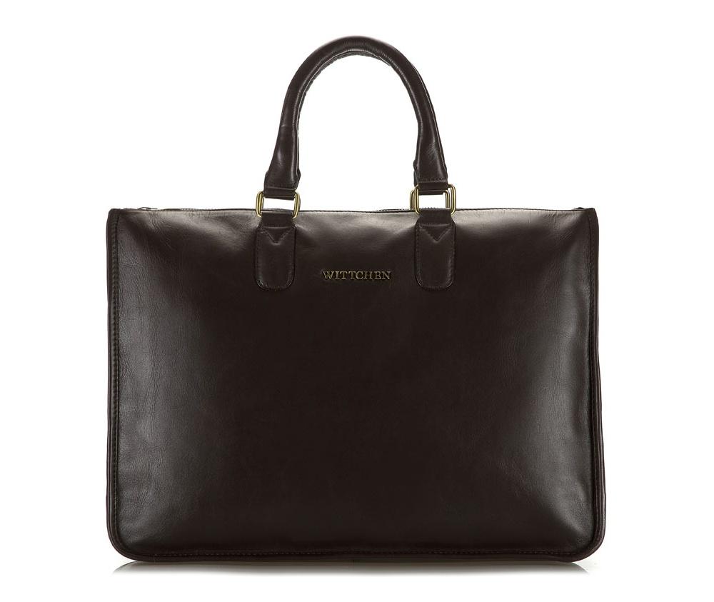СумкаЖенская сумка из коллекции Elegance. Основное отделение на молнии, внутри отделение на молнии и два открытых кармана для мелких предметов.Дополнительно прилагается съемный плечевой ремень с регулируемой длиной.<br><br>секс: женщина<br>Цвет: коричневый<br>высота (см):: 30<br>ширина (см):: 40<br>глубина (см):: 9
