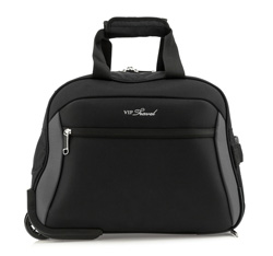 Duffle with wheels, black-grey, V25-3S-237-00, Photo 1