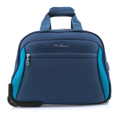 Duffle with wheels, blue, V25-3S-237-99, Photo 1