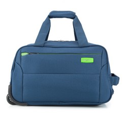 Duffle with wheels, navy blue, V25-3S-227-90, Photo 1