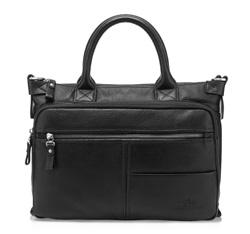 Кожаная сумка Wittchen 82-4U-800-1R, черный 82-4U-800-1R