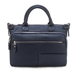 Кожаная сумка Wittchen 82-4U-800-7R, синий 82-4U-800-7R