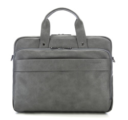 Laptop bag, grey, 85-3P-501-8, Photo 1
