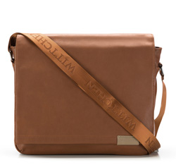 Laptop bag, light brown, 85-3P-502-5, Photo 1