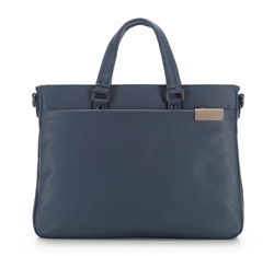 Laptop bag, navy blue, 85-3P-503-7, Photo 1