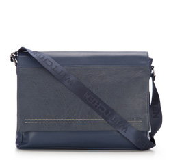 Laptop bag, navy blue, 85-3P-504-7, Photo 1